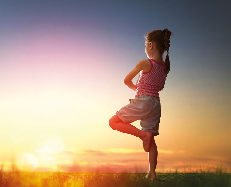 Yoga in der Schule